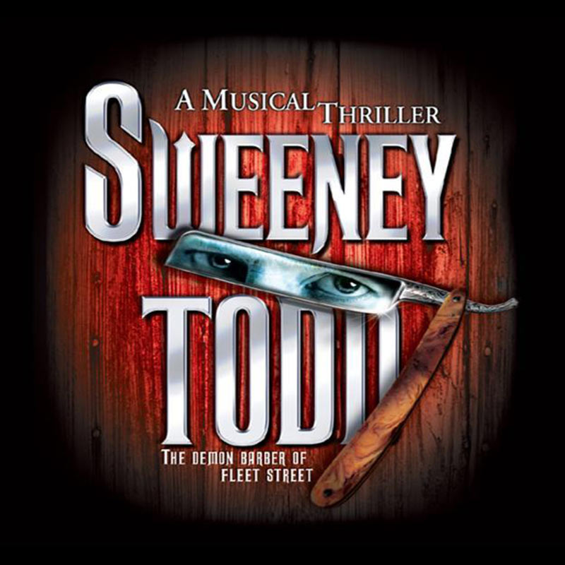 >Sweeney Todd Broadway set rental, props rental, drops, rental and projections rental