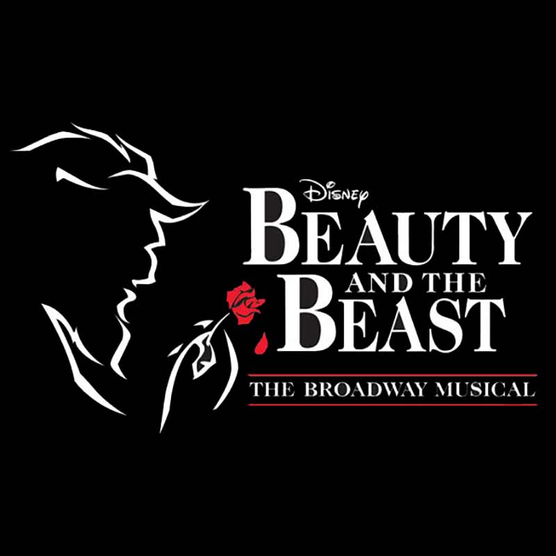 Beauty and the Beast Broadway set rental, props rental, drops, rental and projections rental